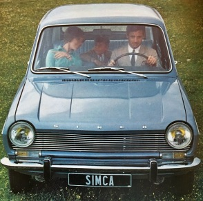 Simca 1100 - extrait du premier catalogue