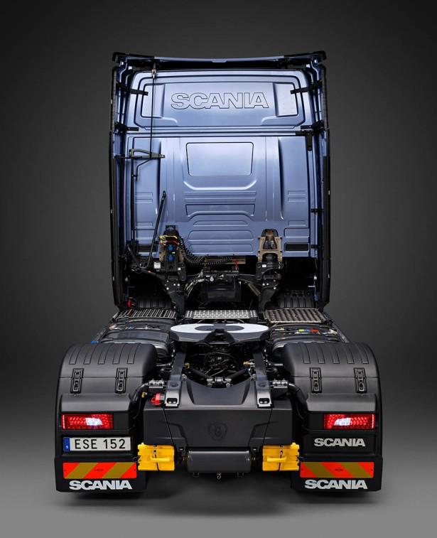 L'arrière du Scania S - Photo Scania