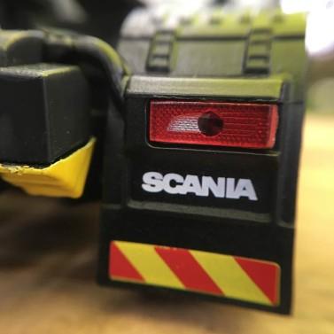 L'arrière du Scania S500 Eligor