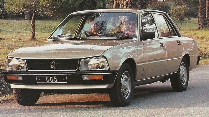 Catalogue Peugeot 505
