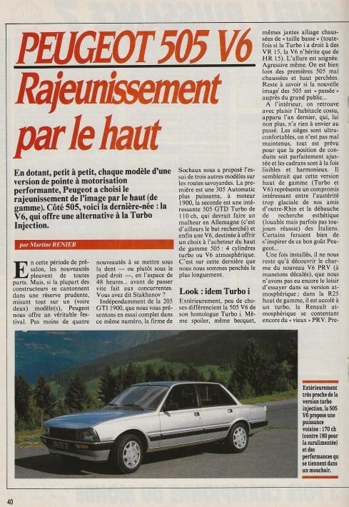 Auto Hebdo 541 - sept 1986