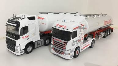 Volvo FH4 et Scania R450 Veynat*