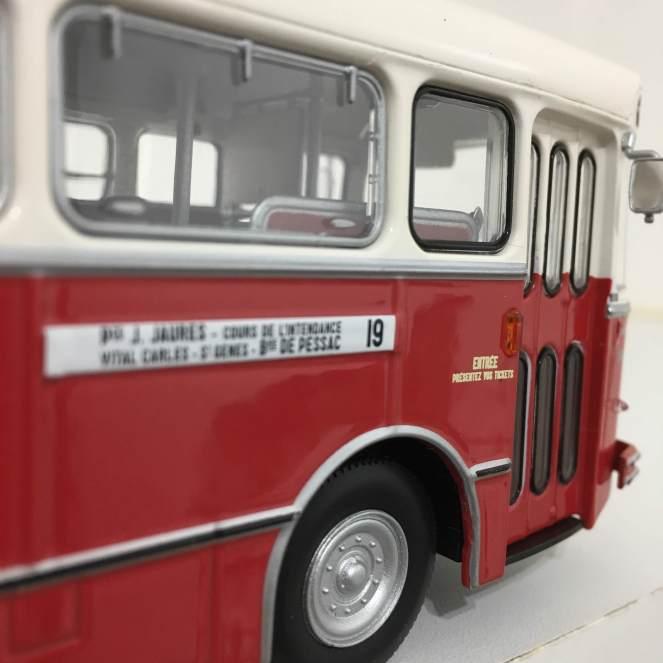 Saviem S105M 1969 CGFTE Bordeaux - Norev