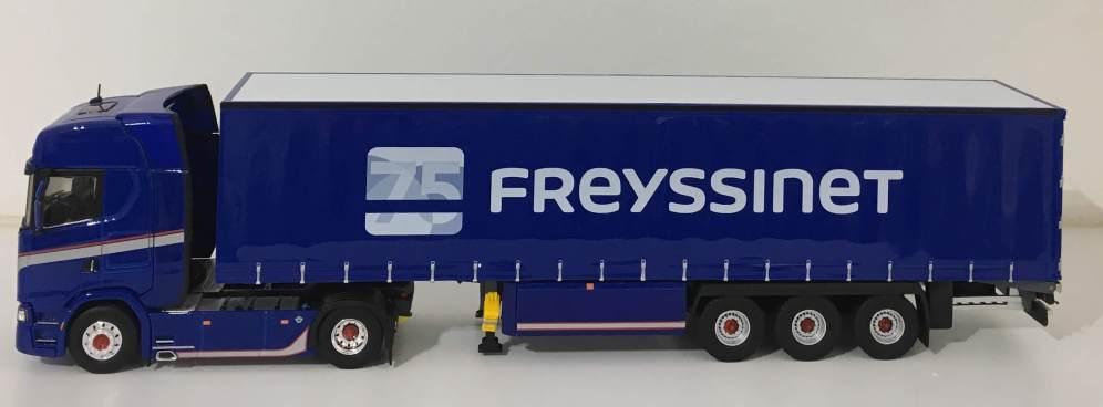 Scania S730 Freyssinet - Eligor