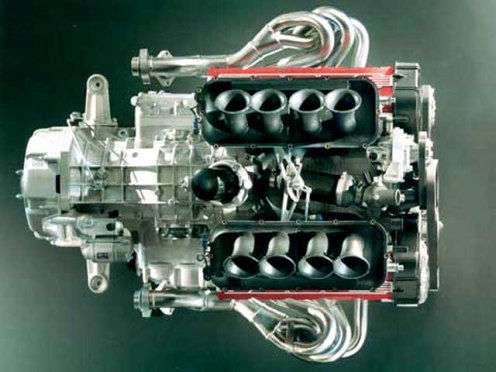 Le moteur de la F355