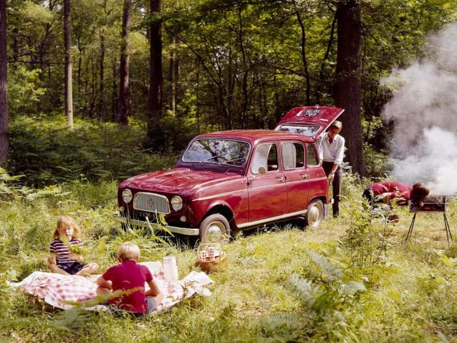 La Renault 4 et son hayon arrière - photo Renault SAS