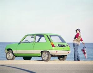 La Renault 5, son hayon et ses boucliers en plastique, une véritable révolution dans le monde des citadines - photo Renault SAS