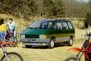 Le Renault Espace, un concept inventé par Matra - photo Renault SAS