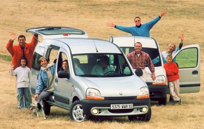 Le Renault Kangoo et sa porte coulissante - photo Renault SAS