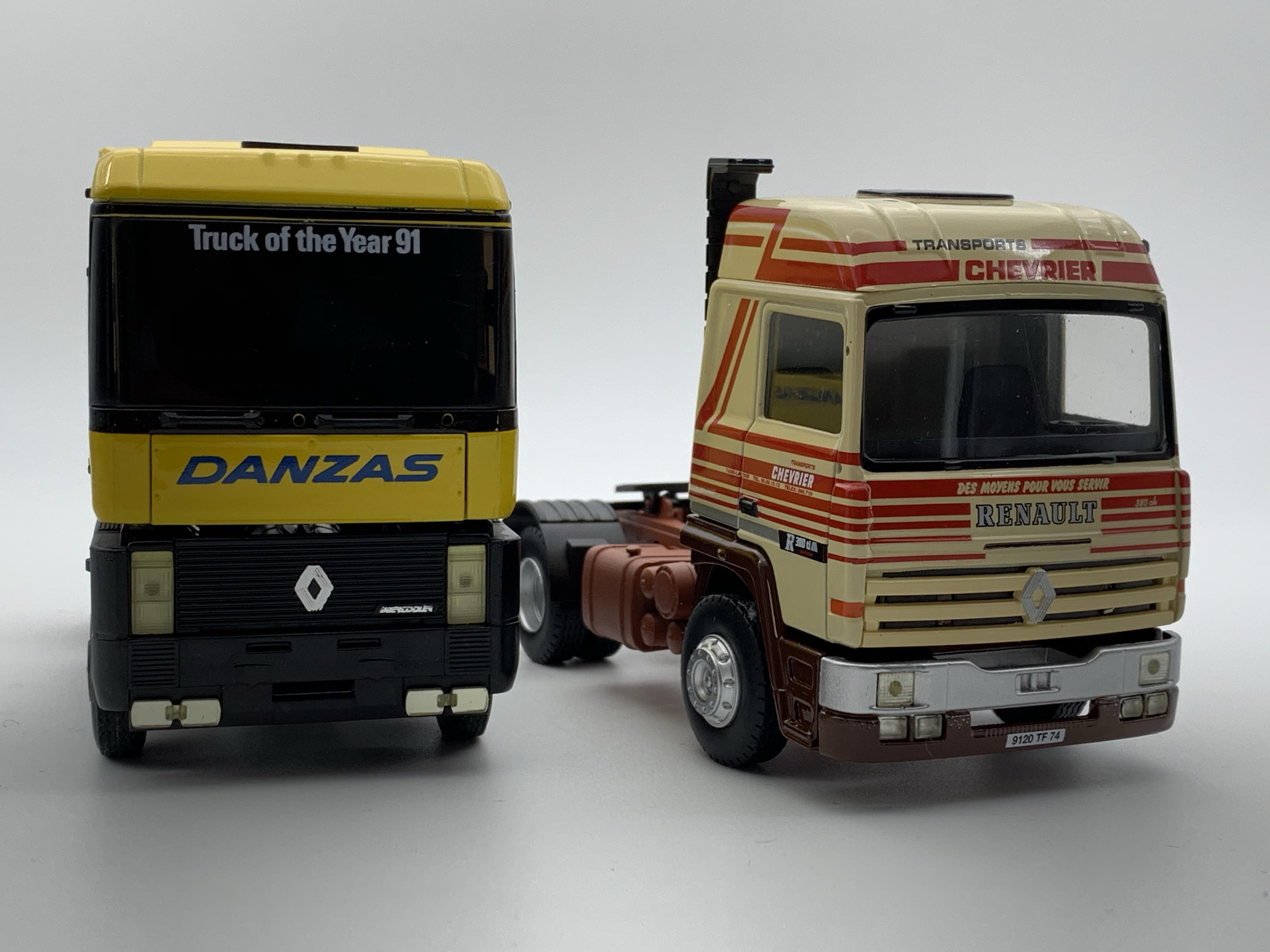 Renault R380 Chevrier et Magnum Danzas Eligor
